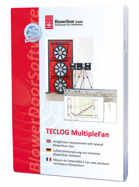 Software TECLOG MultipleFan
